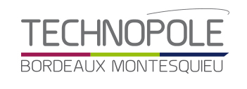 Logo Technopôle Bordeaux Montesquieu
